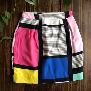 Kate Spade Multi Color Skirt